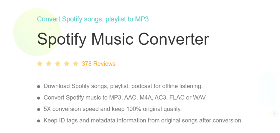 Best Spotify to MP3 Converter