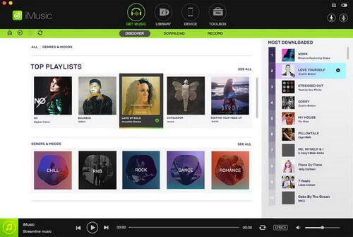 Convert Spotify To MP3 With AimerSoft iMusic