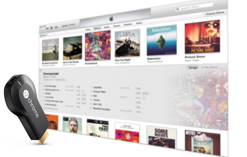 Play iTunes Music on Chromecast Audio