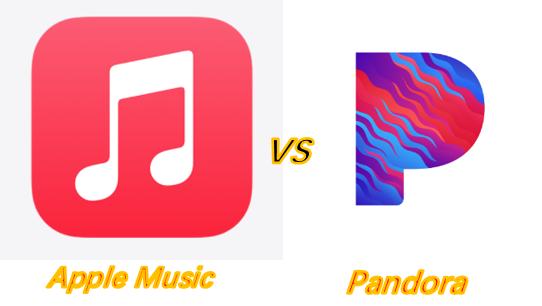 Apple Music vs Pandora
