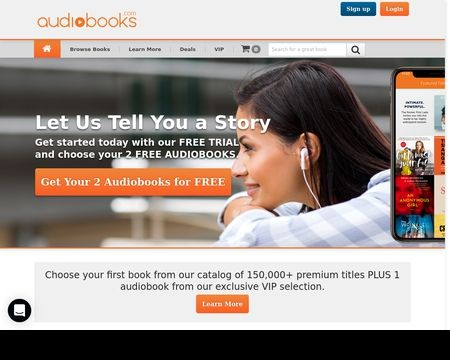 Listen To Audiobook With Audiobooks.com