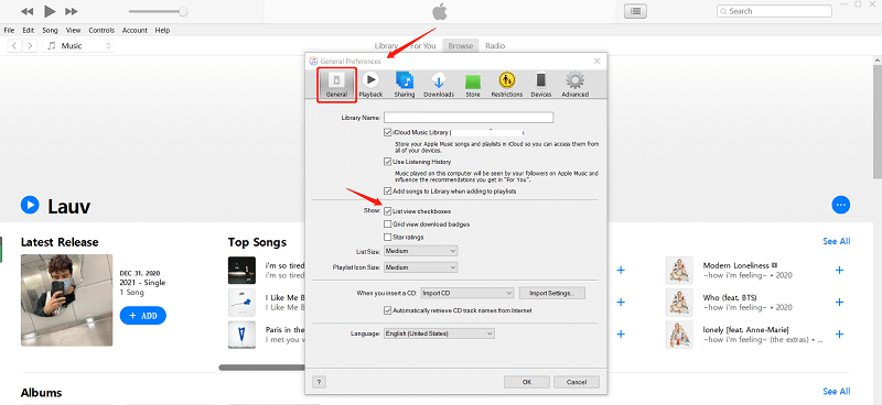 Troubleshoot iTunes Song Greyed out