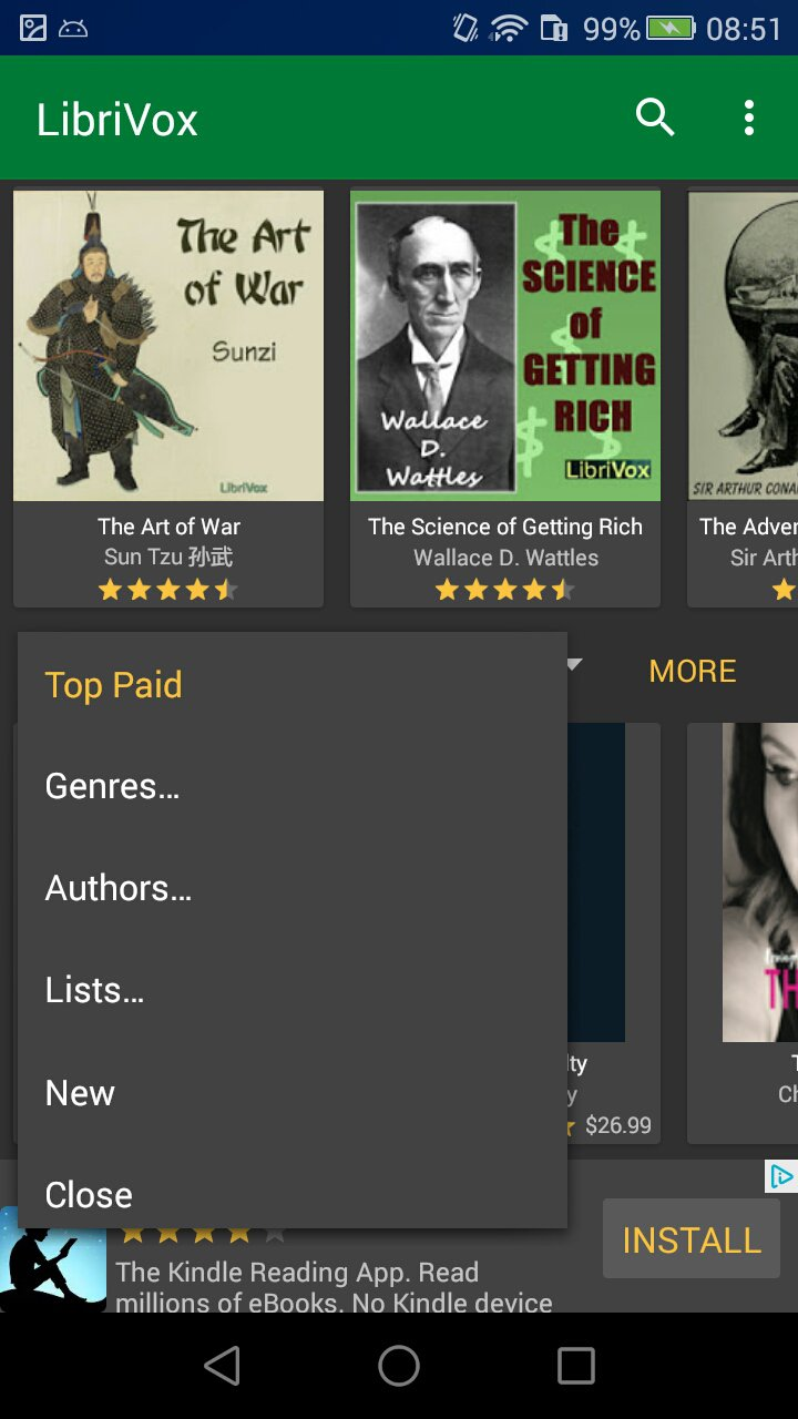 Convert iTunes Audiobooks To Android With LibriVox