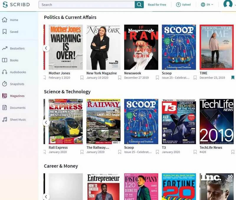 Listen To Audiobook With Scribd