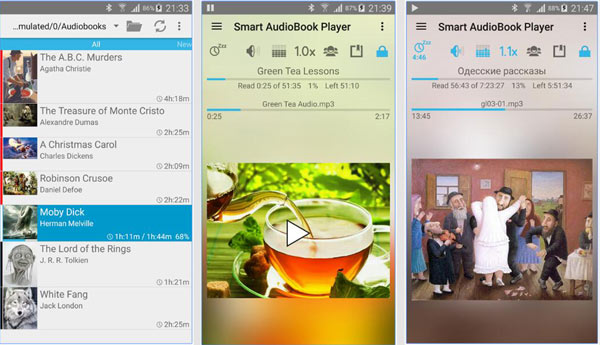 Convert iTunes Audiobooks To Android With Smart Audiobook Player