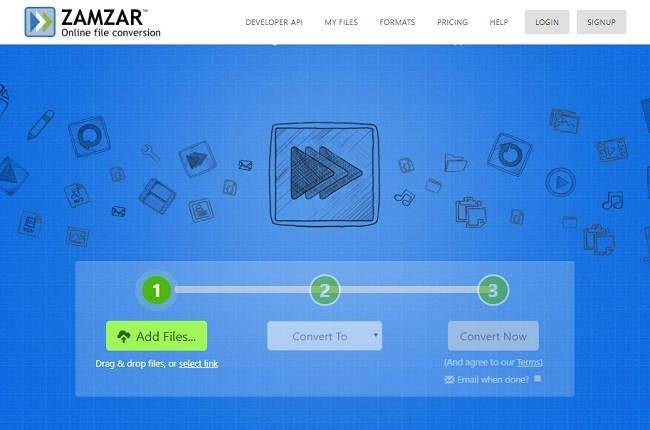 Convert MP3 to M4R With Zamzar