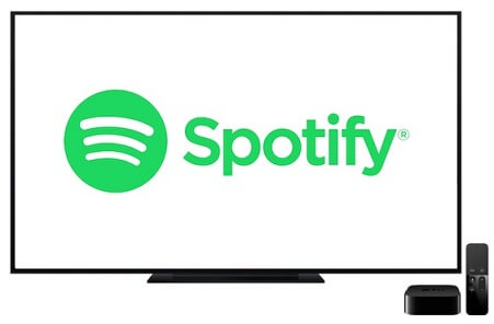 Connecting Spotify on Apple TV