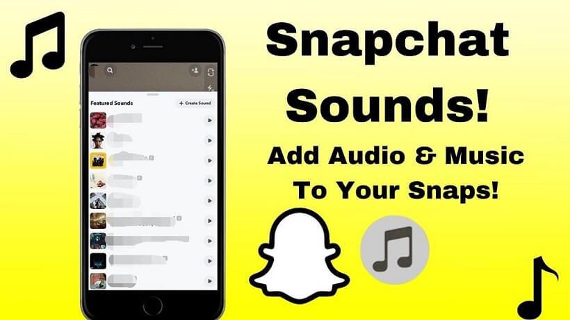 Add Spotify Music to Snapchat