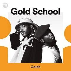 Melhor Playlist de Hip Hop no Spotify - Gold School