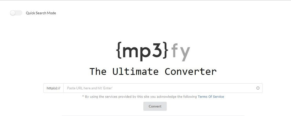 Convert Ogg to MP3 with MP3fy.com