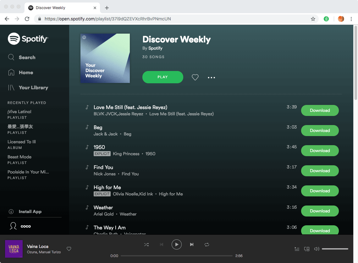 Spotify & Deezer Music Downloader