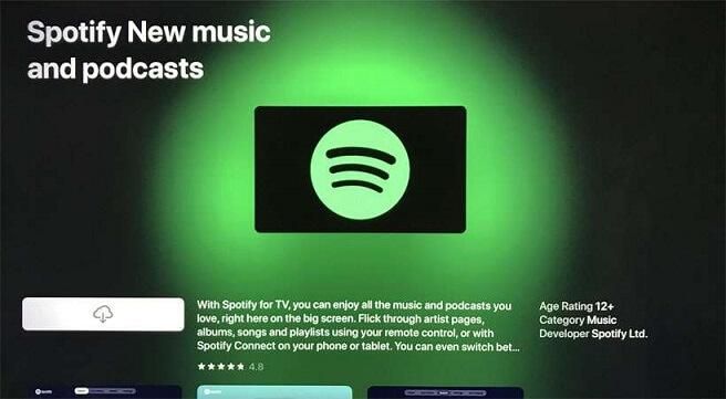 Get Spotify on Apple TV