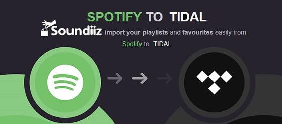 Transfer Spotify Playlist to Tidal via Soundiiz